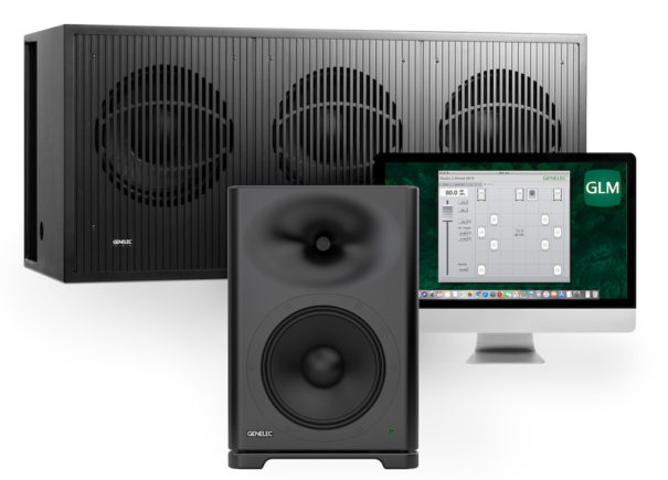Genelec S360 y 7382 GLM audio-technica iberia