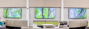Tecnología visual en gran formato como ayuda terapéutica para los pacientes en hospitales