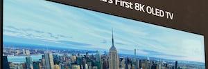 LG lleva la tecnología OLED 8K de gran formato a la televisión en IFA 2018
