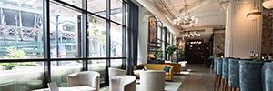 El lujoso hotel Zachary de Chicago se sonoriza con sistemas Martin Audio CDD