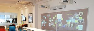Nureva instala su sistema de colaboración Wall WM408i en el Centro de Diseño de Nueva York