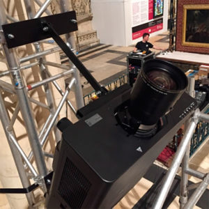 Panasonic y The Projection Studio en la Catedral de York (Foto: Ravage Productions)