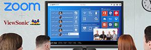 ViewSonic y Zoom impulsan la colaboración en los espacios de trabajo