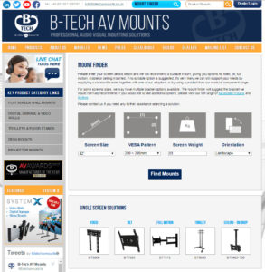 B-Tech Mount Finder