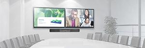 Crestron presenta la barra de sonido Flex B100 para optimizar la colaboración en salas de conferencias