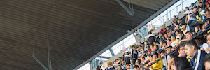 Meyer Sound aporta sus sistemas CAL con tecnología de red AVB/TSN al Estadio Azteca de México