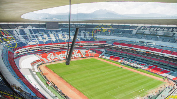 Estadio Azteca Mexico Meyer Sound
