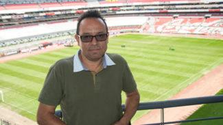 Foto di Lauro Battista azteca Stadium Alejandro Aguirre