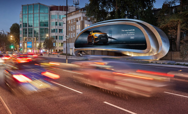 JCDecaux zaha hadid architects the kensington