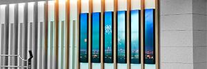 La T2 del aeropuerto de Incheon implanta una completa solución de digital signage con LG