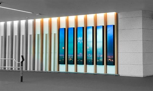 LG en T2 aeropuerto Incheon