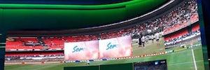El canal SporTV marca la diferencia en 360º con el mayor panel de Led de América Latina