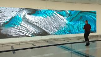 Nanolumens Aeropuerto Internacional Charlotte Douglas