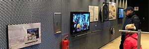 El ferrocarril de montaña Serfaus-Fiss-Ladis informa a los visitantes con pantallas outdoor de Peerless-AV