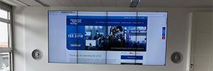 Mitsubishi y Peerless-AV crean un nuevo espacio de colaboración en la sede de ISE en Munich