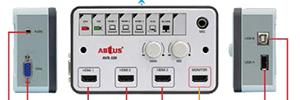 Abtus AVS-320: sistema de control multimedia HDMI para el aula