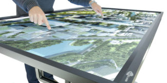 multiclass touch table
