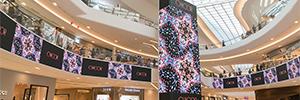 El centro comercial coreano Starfield Goyang establece un nuevo estándar en videowall curvos