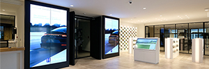 Hillewaere utiliza las pantallas de BenQ para hacer más atractiva la venta de propiedades inmobiliarias