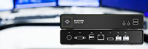 Black Box Emerald SE: sistema KVM por IP con conectividad centralizada