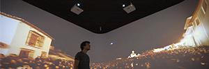 El museo de Antequera crea una sala inmersiva de 360º con la proyección de Canon