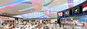 Necsum diseña la experiencia de videoarte interactivo para el nuevo centro comercial de Torrecárdenas