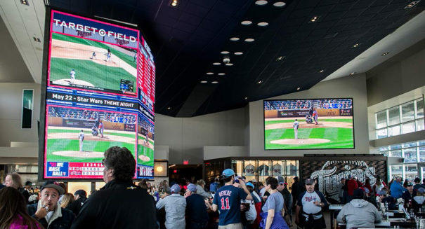 Daktronics Minnesota Twins Displays 2018
