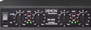 Denon desarrolla nuevos amplificadores multicanal para instalaciones comerciales