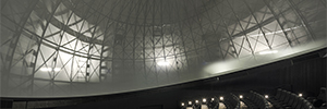 Digital Projection ilumina el primer planetario de cúpula 'seamless' de Norteamérica