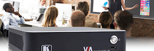 Kramer VIA Campus Plus: colaboración y presentación simultánea por cable e inalámbrica