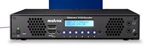 Matrox Maevex 6120: codificador dual para la transmisión y grabación en 4K