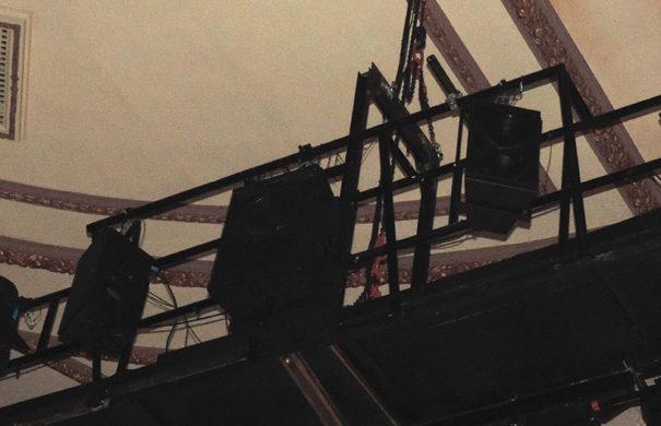 Meyer Sound Delay CQ UPA musical Billy Elliot Nuevo Teatro Alcala