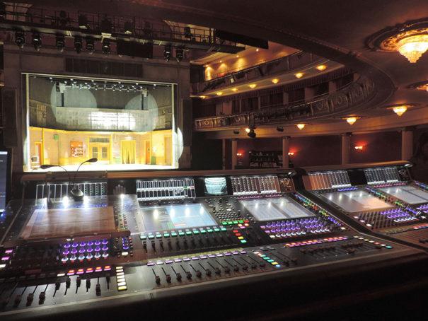 Meyer Sound DiGiCo SD7 musical Billy Elliot Nuevo Teatro Alcala