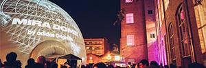 MIRA Digital Arts Festival presenta los proyectos inmersivos en formato fulldome para la edición de este año