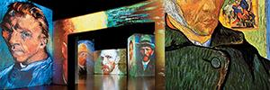 La experiencia envolvente y multisensorial 'Van Gogh Alive' sigue su recorrido por España