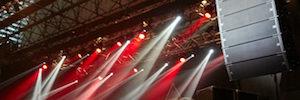 Rampa Huesca apuesta de nuevo por el sonido de JBL para el concierto de Europe