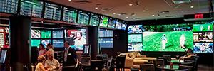 El Golden Nugget abre su sala de apuestas deportivas con soluciones de Absen y Analog Way