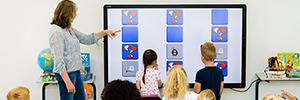 CTouch lleva la interactividad al aula con la pantalla táctil OPS Laser Sky
