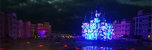 Un hotel de fantasía abre sus puertas iluminado por Power AV