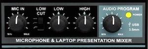 Radial Presenter facilita la configuración de audio para pequeños eventos
