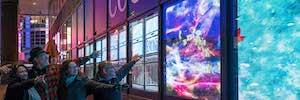 Coolture Impact: el videoarte interactivo llega a Times Square con la tecnología Led de Leyard