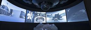 El mundo del agente secreto 007 cobra vida con la tecnología de visualización de AV Stumpfl