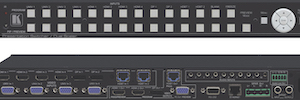 Kramer VP-733: matriz de presentación y escalador UHD 4K30 para aplicaciones multimedia