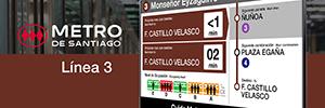 Deneva se consolida como referente de comunicación en el metro de Santiago de Chile