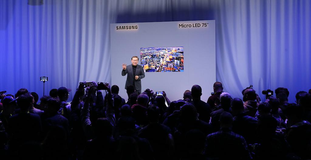 Samsung sigue apostando por la televisión modular MicroLED
