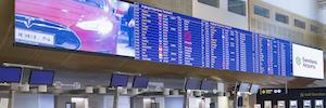 La tecnología Led de NEC Display transforma la experiencia de los pasajeros del aeropuerto de Arlanda