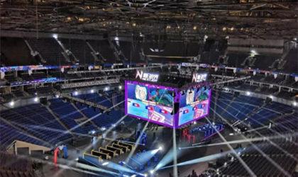 Absen en Mercedes Benz Arena Shangai