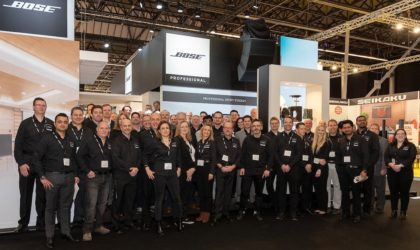 Bose professional ise2019 equipo