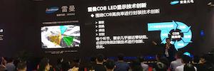 Ledman presenta a la industria AV sus pantallas micro-pitch COB P0.9 en ISLE 2019