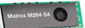 Matrox M264 S4: primera tarjeta de códec 4Kp60 XAVC de cuatro canales